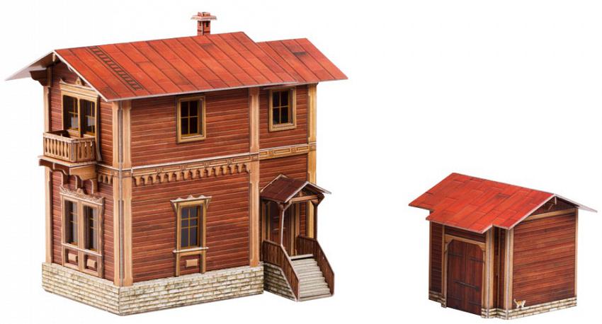 Умная Бумага Сборная модель Сторожевой дом