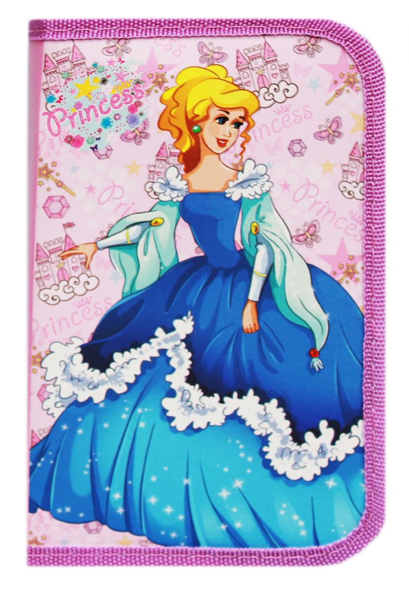 Profit Пенал Принцесса в синем платье