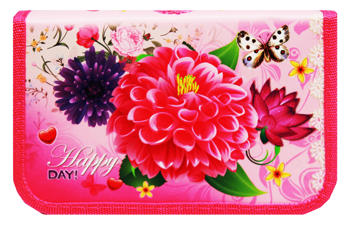 Prof Press Пенал Нежные цветы на розовом prof press пенал тубус милые щенки