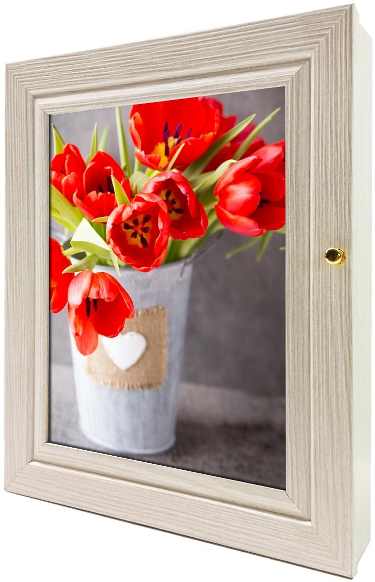 Фото - Ключница настенная Toplight, цвет: акация, 24 x 29 x 4,5 см. TL-KAG0158 to4rooms декор настенный ключница bautista