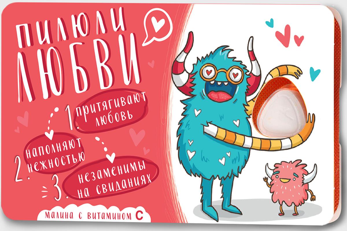 Сhokocat Пилюли любви леденцы для рассасывания, 18 г кармолис леденцы про актив с витамином с 75 г