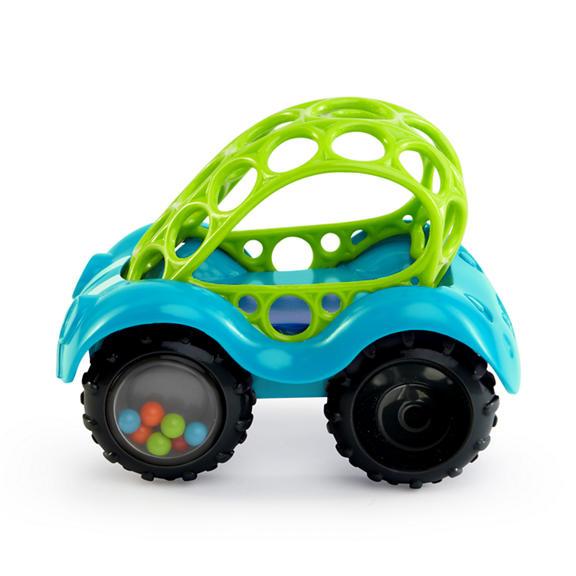 Развивающая игрушка Машинка голубая oball развивающая игрушка twist o round