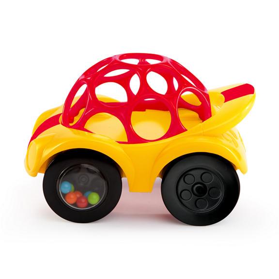 Oball Развивающая игрушка Машинка цвет желтый игрушка oball red 10556 1