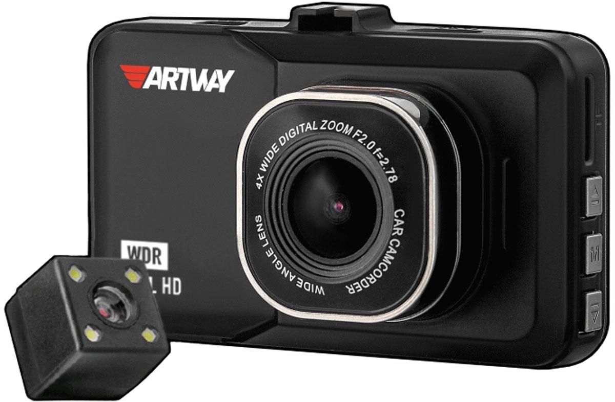 Artway AV-394, Black видеорегистратор