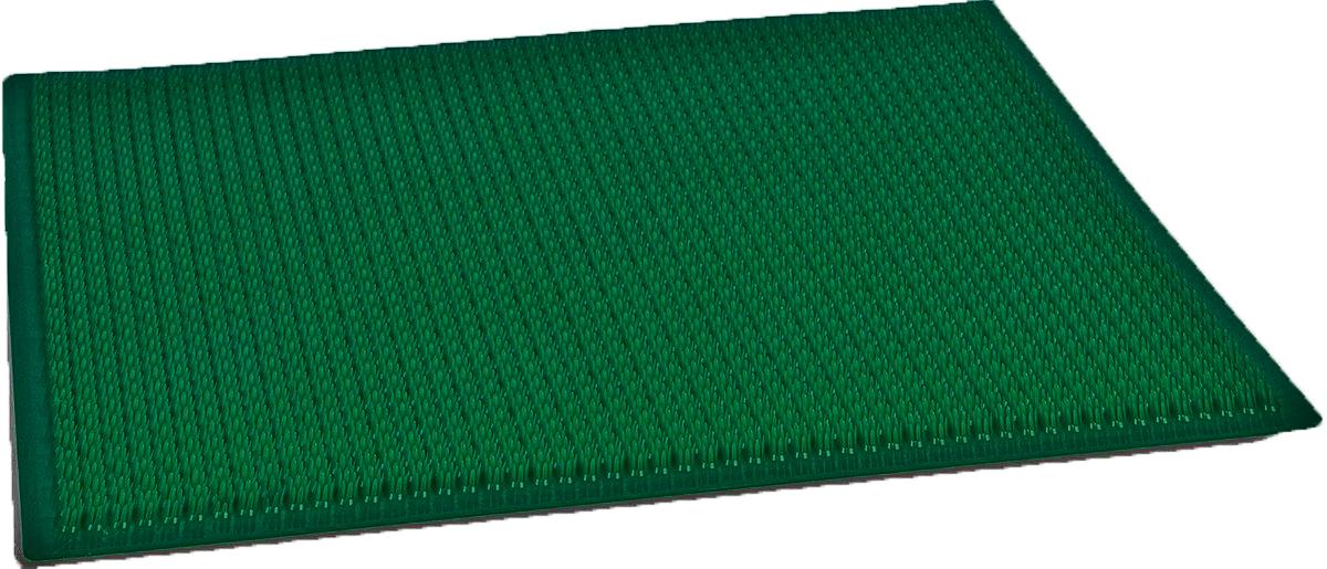 "Настил садовый ""Травка"", цвет: темно-зеленый, 38,5 х 58,5 см"