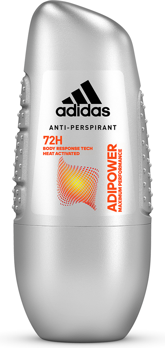 """Adidas Дезодорант-антиперспирант ролик """"Adipower"""", мужской, 50 мл"""