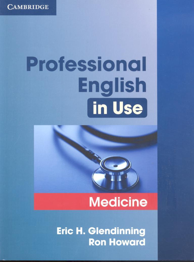 Professional English in Use Medicine professional english in use medicine
