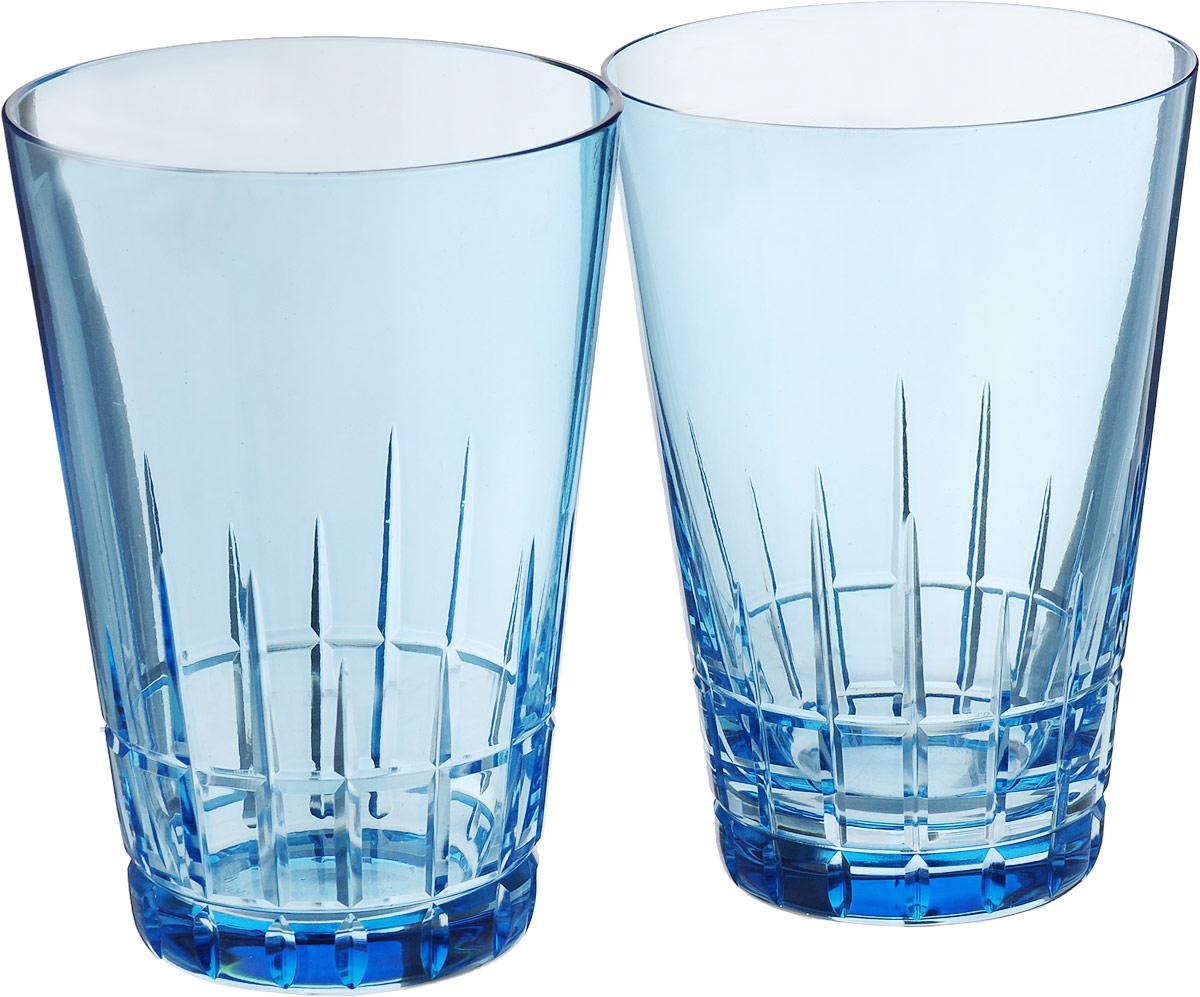 """Набор стаканов Nachtmann """"Sixties Stella. Aqua"""", цвет: голубой, 360 мл, 2 шт"""