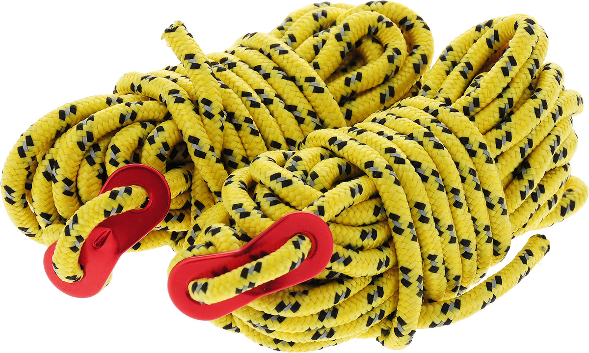 Набор оттяжек Red Fox Cord Set, цвет: желтый