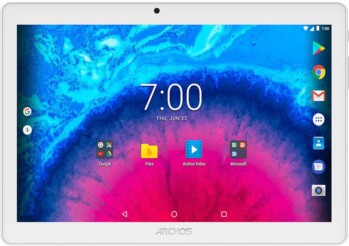 10 Планшет Archos Core 101 4G V3, 16 GB, серебристый планшет archos 70c xenon 503050