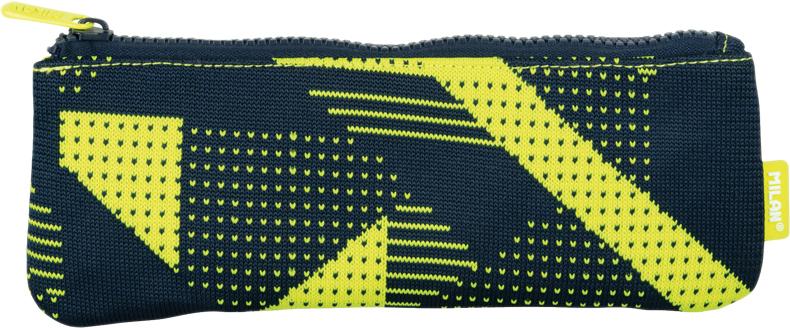 Milan Пенал-косметичка Knit цвет черный желтый пенал milan flowers blue 081130fwb 259010