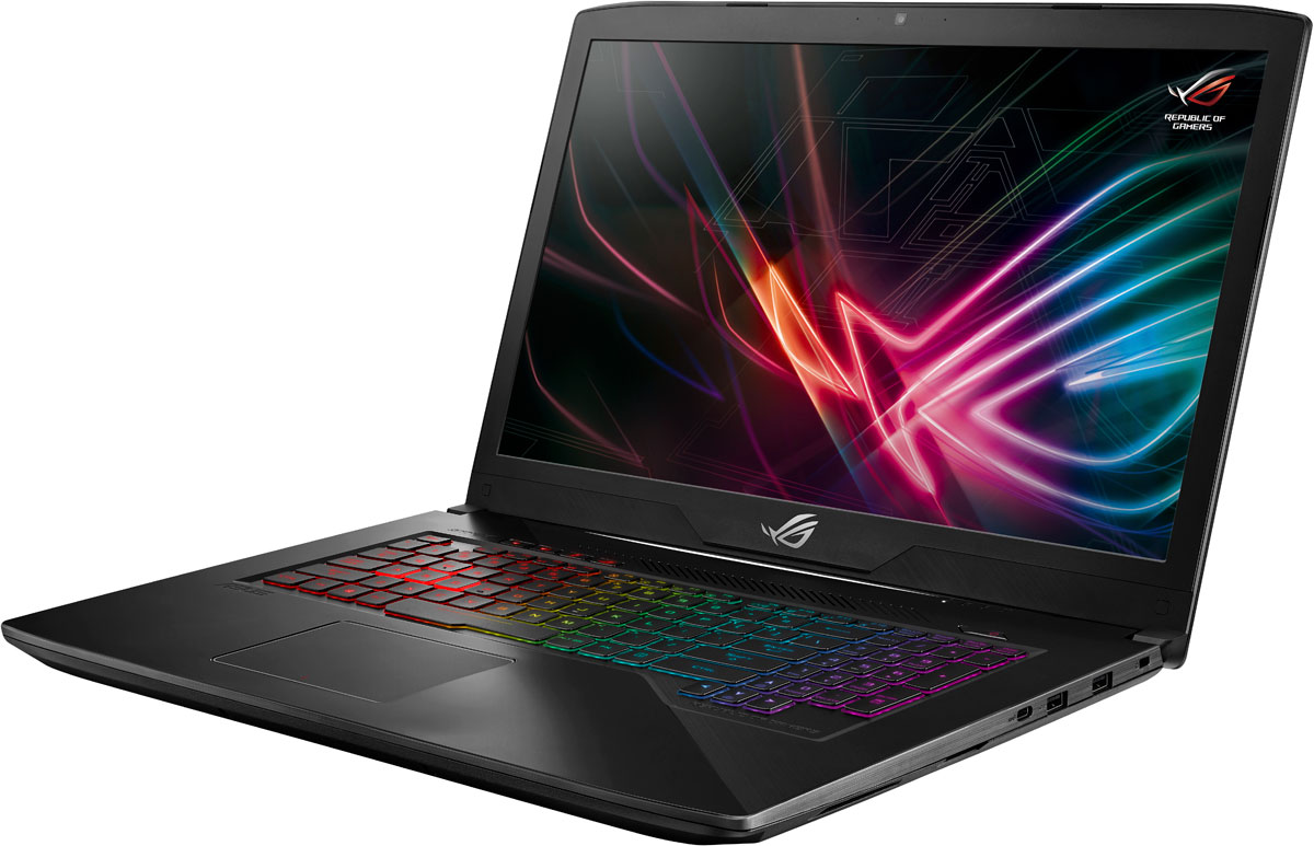17.3 Игровой ноутбук ASUS ROG Strix SCAR GL703GM 90NR00G1-M03460, черный ноутбук asus rog scar edition gl703gm ee231 17 3 1920x1080 intel core i5 8300h 1 tb 16gb bluetooth 5 0 nvidia geforce gtx 1060 3072 мб черный dos 90nr00g1 m04640