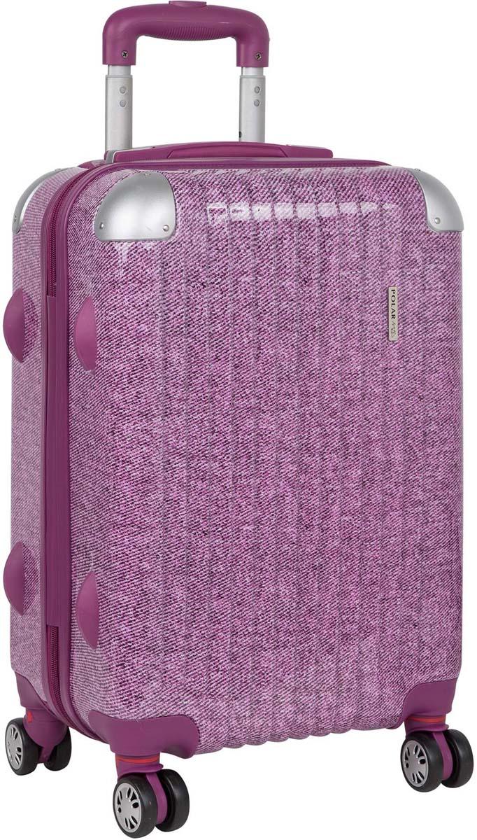 Чемодан Polar, цвет: розовый, 48 л. Р1011 (20) стилус polar pp001