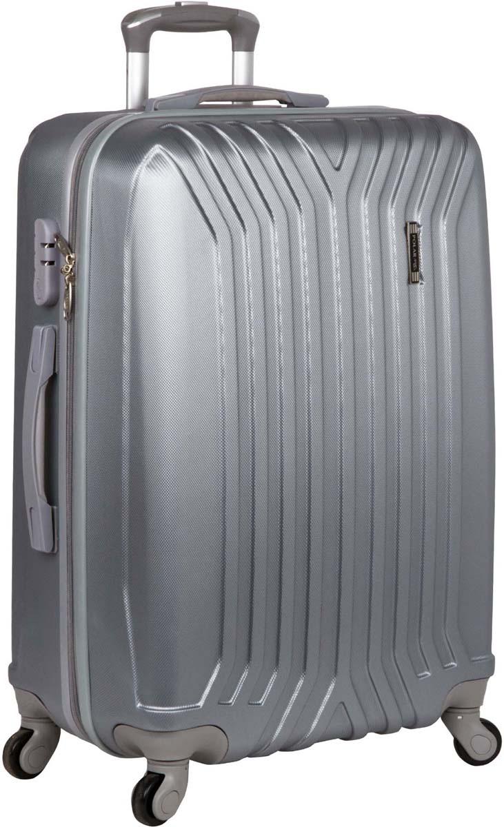 Чемодан Polar, цвет: светло-серый, 44 л. Р 12032 (20) стилус polar pp001