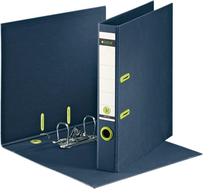 Leitz Папка - регистратор 180° ReCycle обложка 50 мм цвет темно-синий
