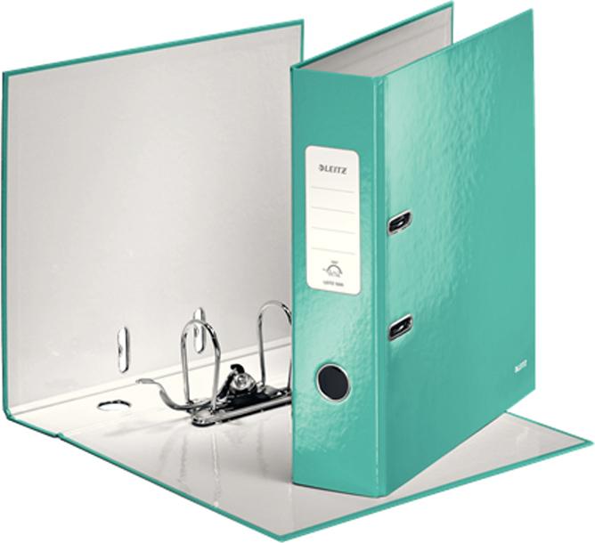 Leitz Папка-регистратор 180° WOW обложка 80 мм цвет бирюзовый