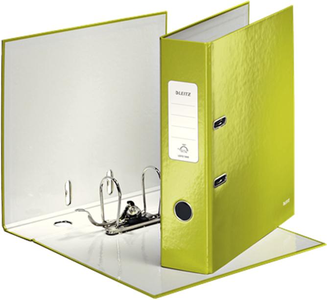 Leitz Папка-регистратор 180° WOW обложка 80 мм цвет зеленый