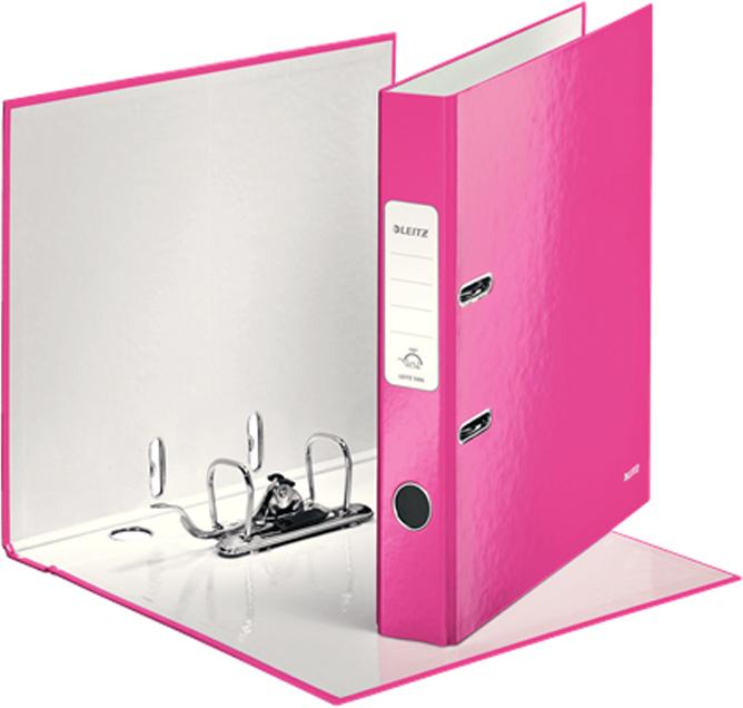 Leitz Папка-регистратор 180° WOW обложка 50 мм цвет розовый