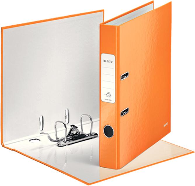 Leitz Папка-регистратор 180° WOW обложка 50 мм цвет оранжевый