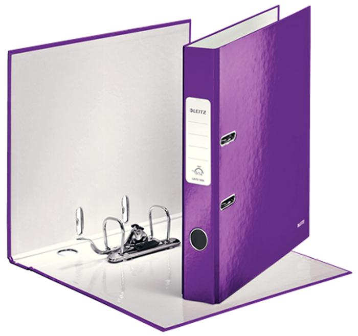 Leitz Папка-регистратор 180° WOW обложка 52 мм цвет фиолетовый