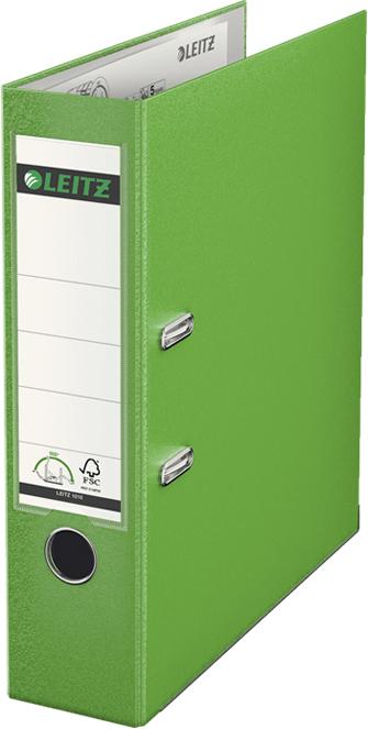 Leitz Папка-регистратор 180° обложка 80 мм цвет светло-зеленый