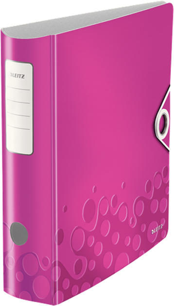 Leitz Папка-регистратор 180° Active WOW обложка 82 мм цвет розовый