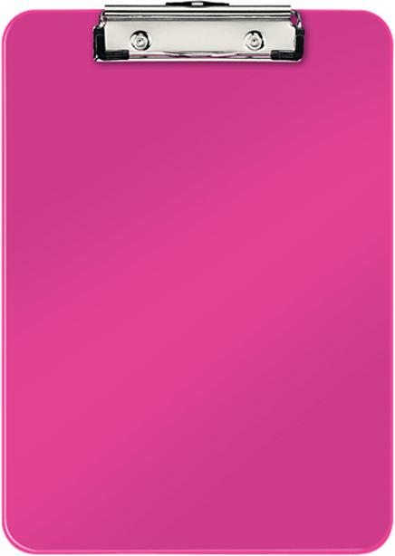 Папка-планшет Leitz WOW, А4, цвет: розовый