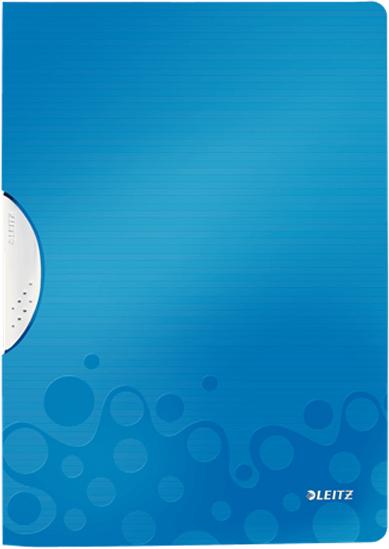 Leitz Папка с клипом WOW цвет синий