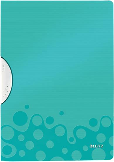 Leitz Папка с клипом WOW цвет бирюзовый
