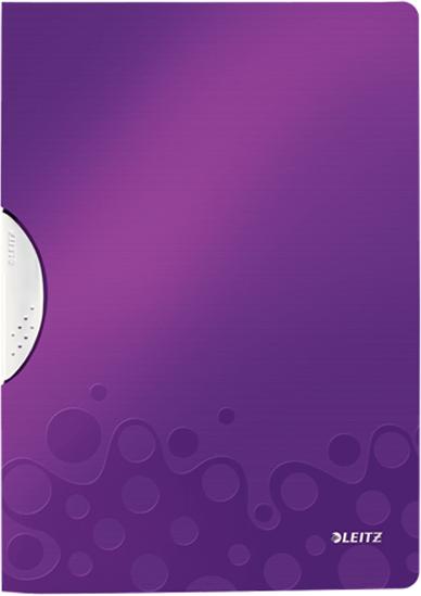 Leitz Папка с клипом WOW цвет фиолетовый