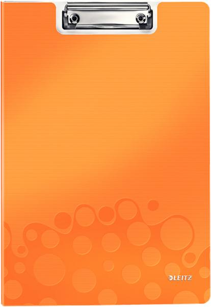 Leitz Папка-планшет WOW с крышкой цвет оранжевый