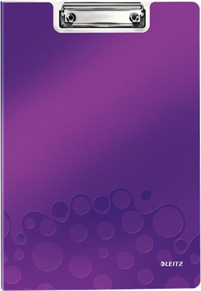Leitz Папка-планшет WOW с крышкой цвет фиолетовый