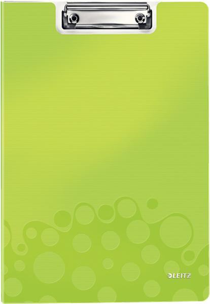 Leitz Папка-планшет WOW с крышкой цвет зеленый