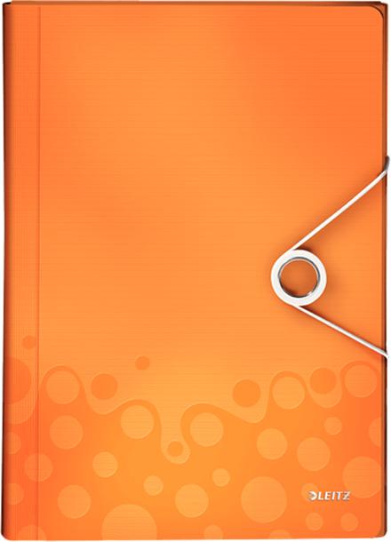 Leitz Папка для проектов WOW цвет оранжевый