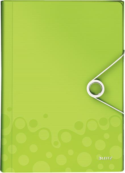 Leitz Папка для проектов WOW цвет зеленый
