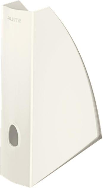 Leitz Лоток для бумаг WOW вертикальный цвет перламутровый