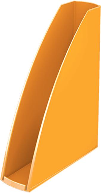 Leitz Лоток для бумаг WOW вертикальный цвет оранжевый