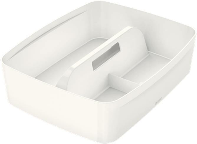 Leitz Лоток-органайзер MyBox с ручкой большой цвет белый