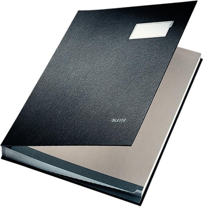 Leitz Папка адресная 20 разделов цвет черный