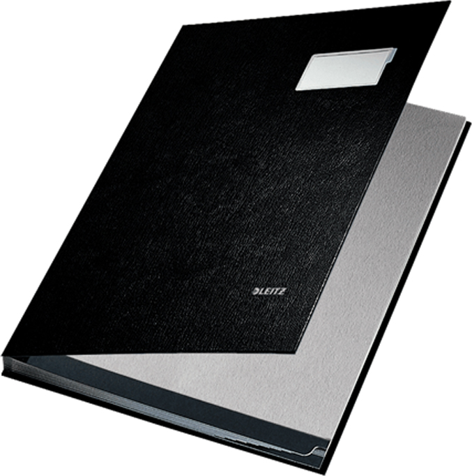 Leitz Папка адресная 10 разделов цвет черный