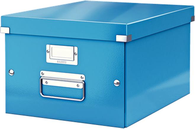 Leitz Короб архивный Click-n-Store размер M (A4) цвет синий