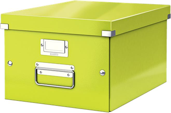 Leitz Короб архивный Click-n-Store размер M (A4) цвет зеленый короб складной весна 300х400х250мм зеленый полипропилен