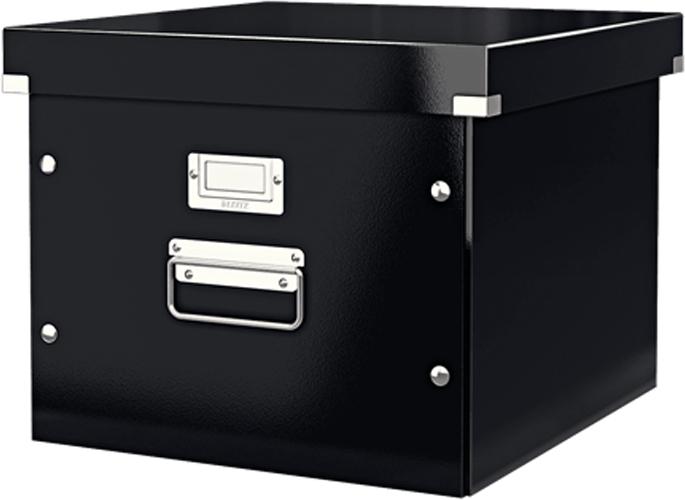 Leitz Короб архивный Click-n-Store для подвесных папок цвет черный футляр для папок формата оптима классик бордовый
