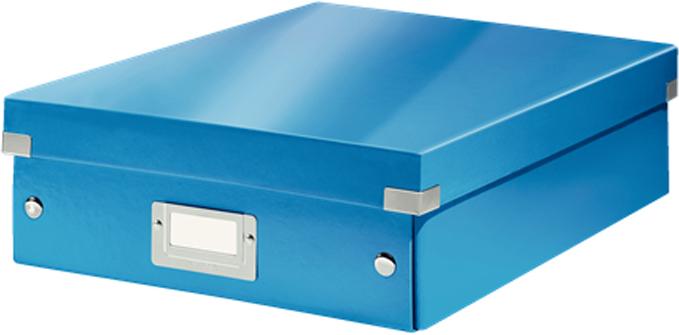 Leitz Короб-органайзер Click-n-Store размер М цвет синий