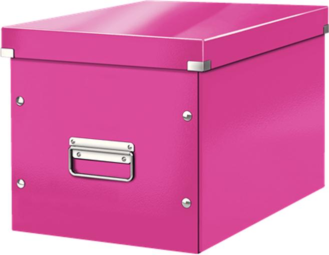 Leitz Короб архивный Click-n-Store размер L цвет розовый