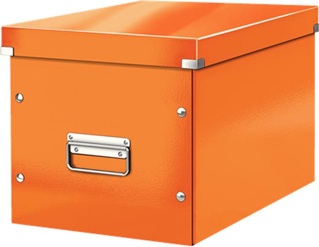 Leitz Короб архивный Click-n-Store размер L цвет оранжевый бокс для хранения вещей ikea ikea