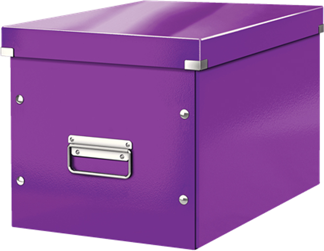 Leitz Короб архивный Click-n-Store размер L цвет фиолетовый бокс для хранения вещей ikea ikea