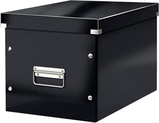 Leitz Короб архивный Click-n-Store размер L цвет черный бокс для хранения вещей ikea ikea