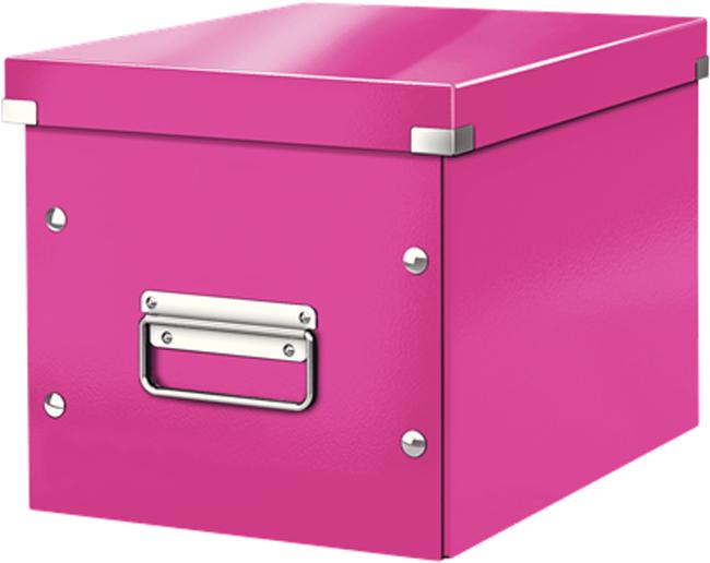 Leitz Короб архивный Click-n-Store размер М цвет розовый
