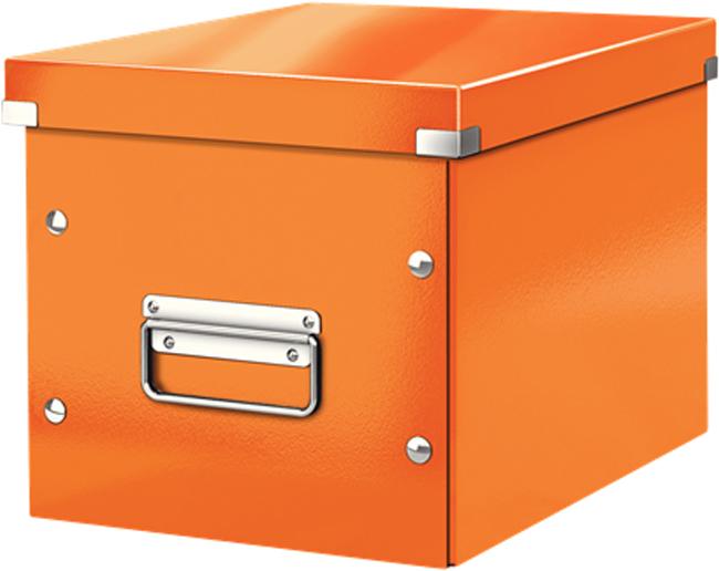Leitz Короб архивный Click-n-Store размер М цвет оранжевый бокс для хранения вещей ikea ikea